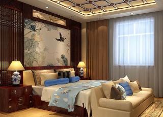 简约古典中式别墅装修案例—大气优雅的温馨港湾