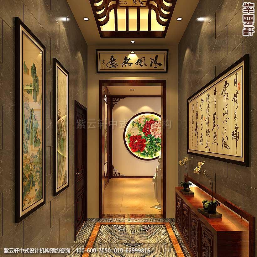别墅私人庄园古典中式装修设计