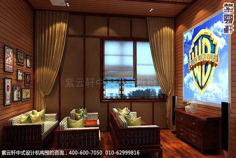 别墅私人庄园古典中式装修设计,诗情画意阔气豪迈