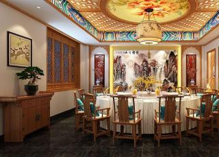 餐饮酒店中式装修案例赏析—感受中式设计的高端古雅