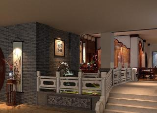 红木精品馆古典中式装修设计 清澈静怡宁和雅致