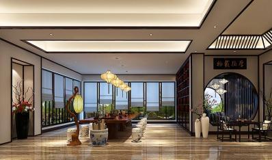善卷洞新中式风格酒店 重温空灵宁静的东方文化艺术