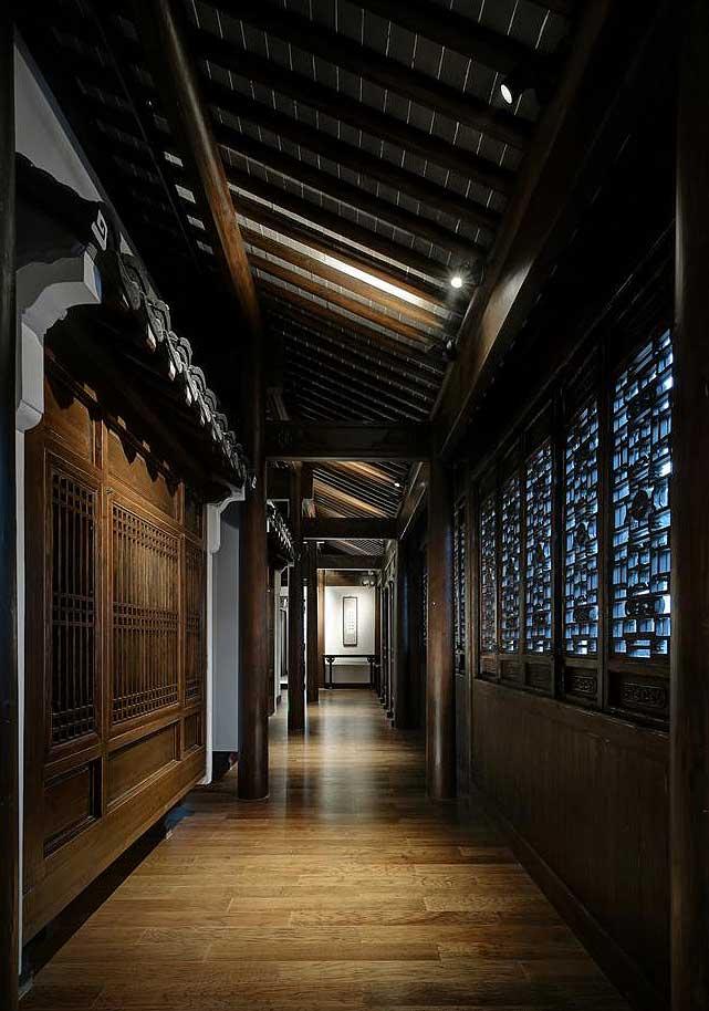 中式设计菜馆空间