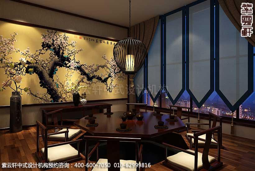 长治佛禅商务会所中式设计效果图—— 清雅恬淡的臻美