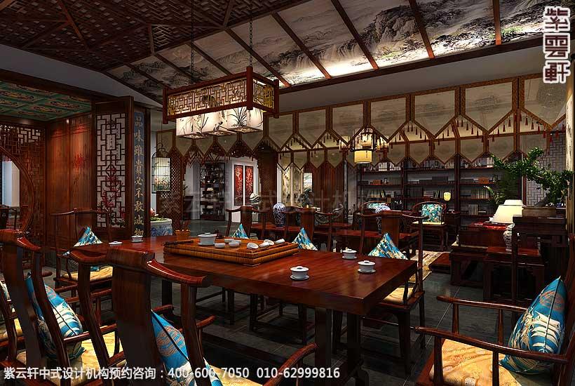 中式茶楼设计 紫云轩