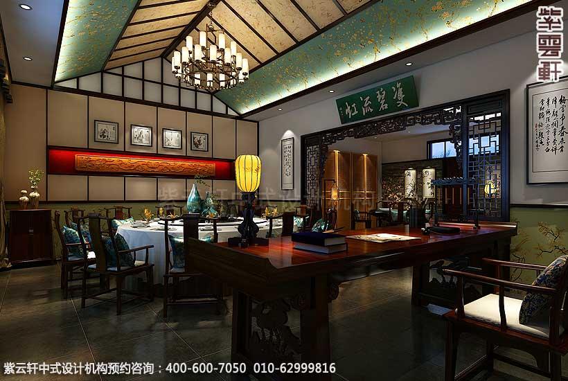 古典中式装修聊城刘总私人会所