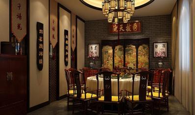 古典中式装修聊城刘总私人会所 古意浓浓,诗情深深