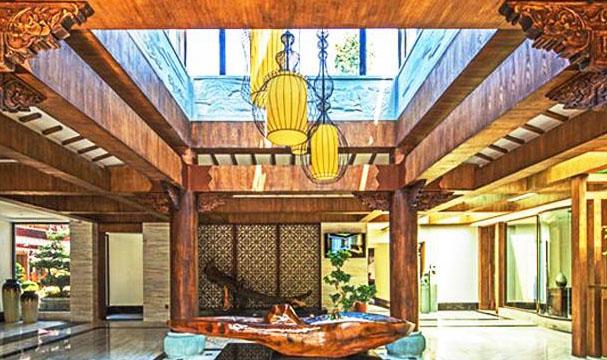 和敬静寂、清虚淡远的禅意风格中式酒店空间