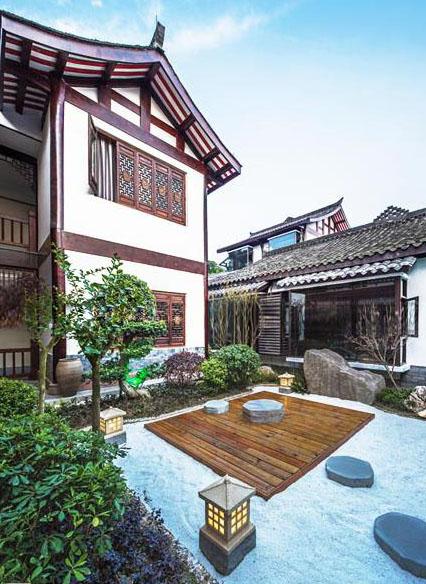 中式酒店空间