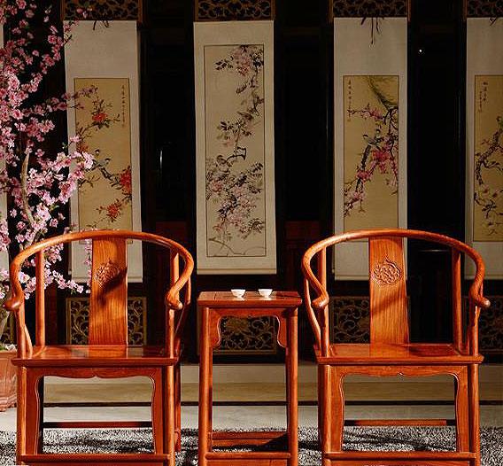 中式设计空间明式家具 千年风雅百转千回