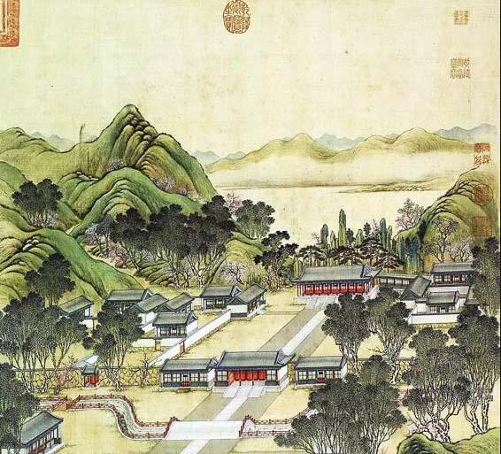 中国古建文化之圆明园四十景 诗意雅致画境无穷(一)