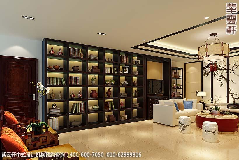 现代中式风格装修如何设计?保定现代中式新房豪华装修实景图展示