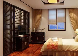 保定复式住宅简约中式装修 展露一份典雅高贵的生活情态