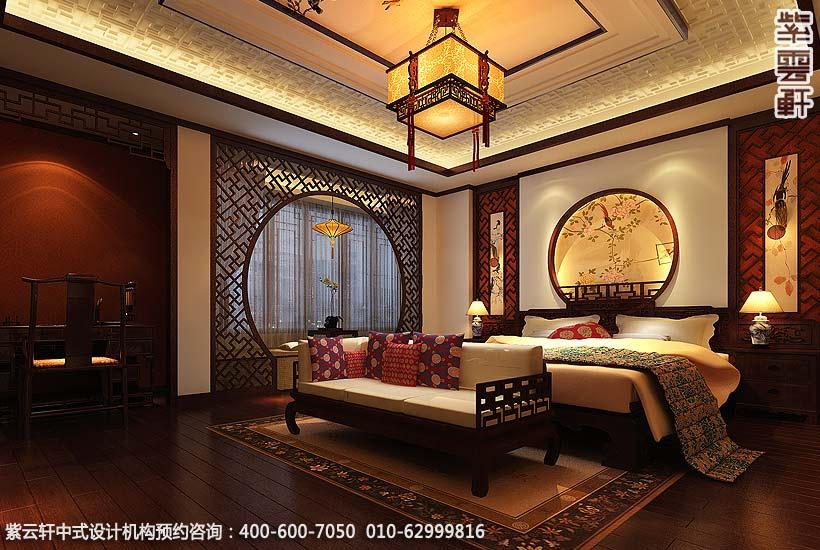 别墅装修效果图的设计美轮美奂,营造了温馨舒适的家居氛围