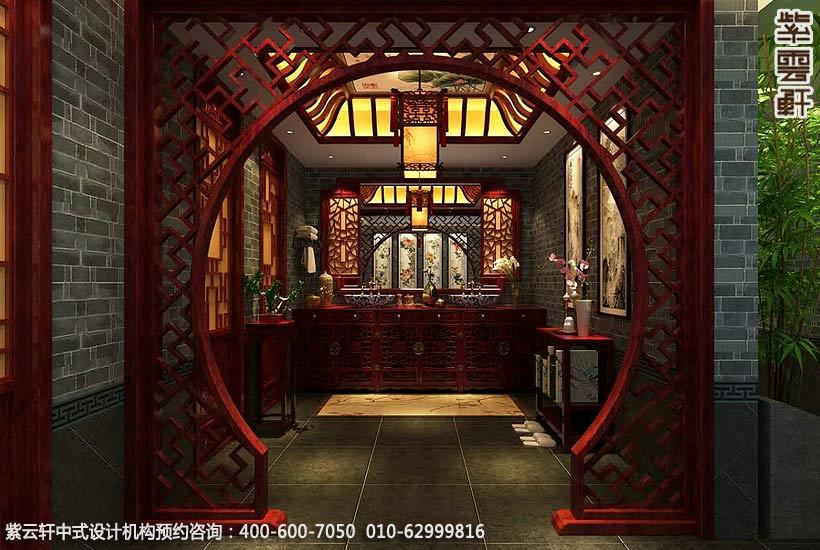 中式私人会所装修