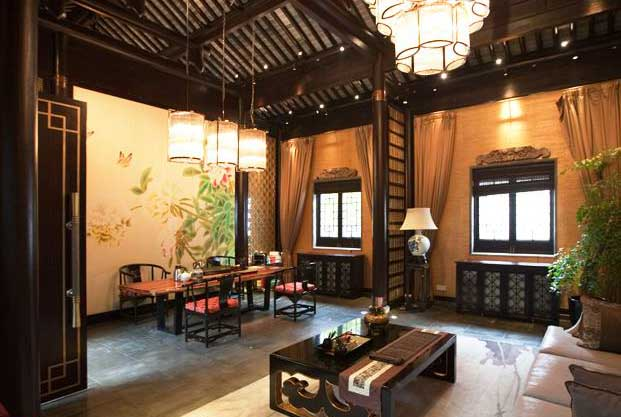 中式茶馆装修设计之道