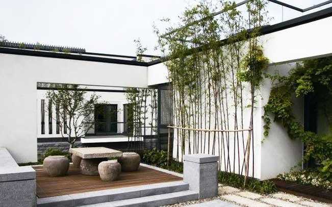 不著一字,尽得风流--江南风格中式庭院布景之美 一