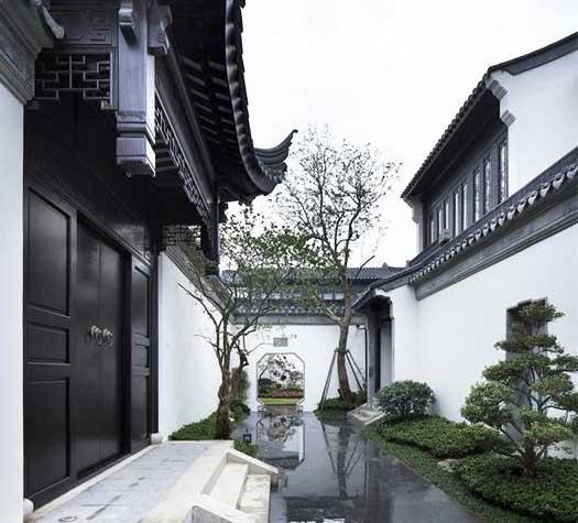 古典美学思想中,构筑妙景--江南风格中式庭院布景之美