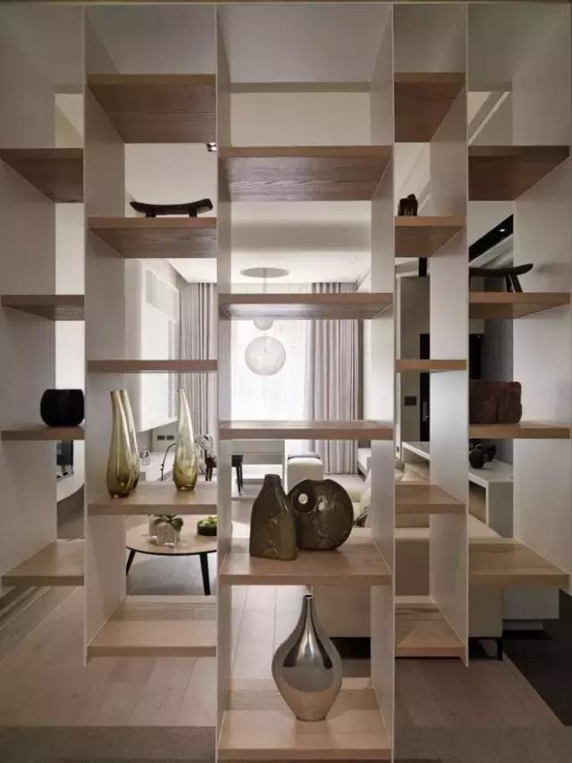 给大家介绍一些中式装修住宅常用的经典隔断设计