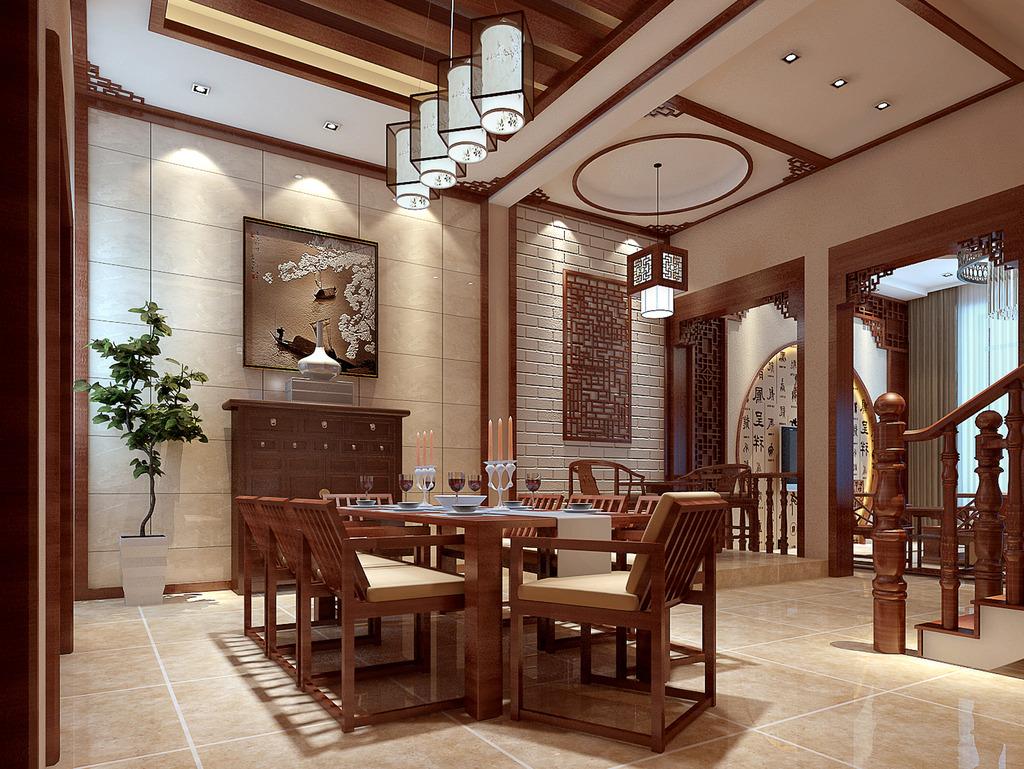 现在中式装修住宅中餐厅和厨房装修需注意方位