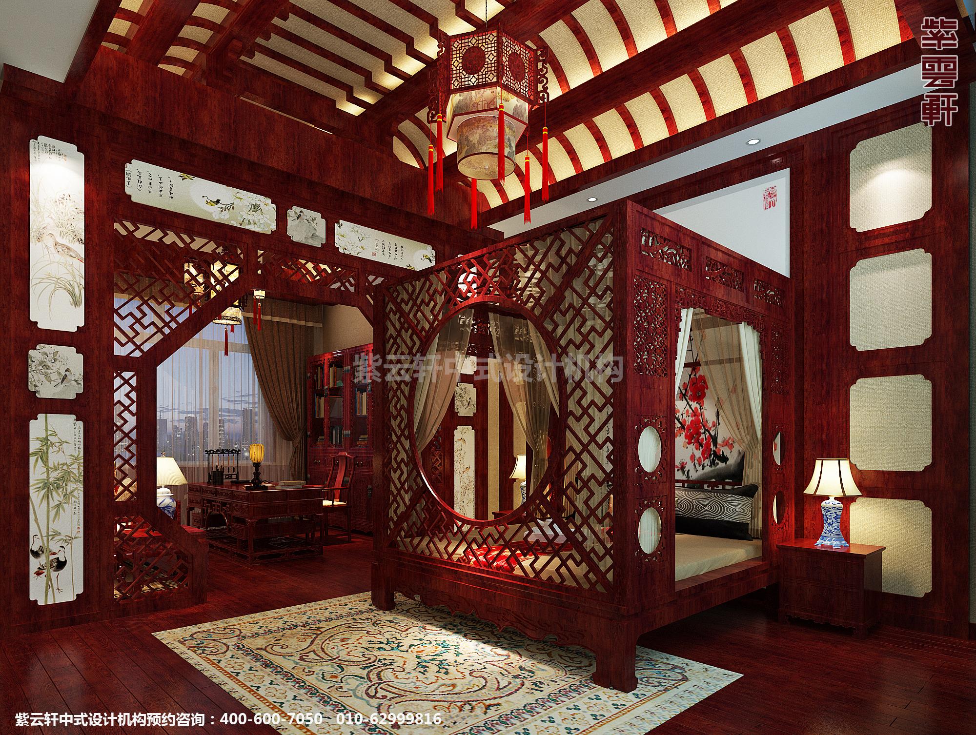 现代中式风格蓟县恒大别墅楼王设计