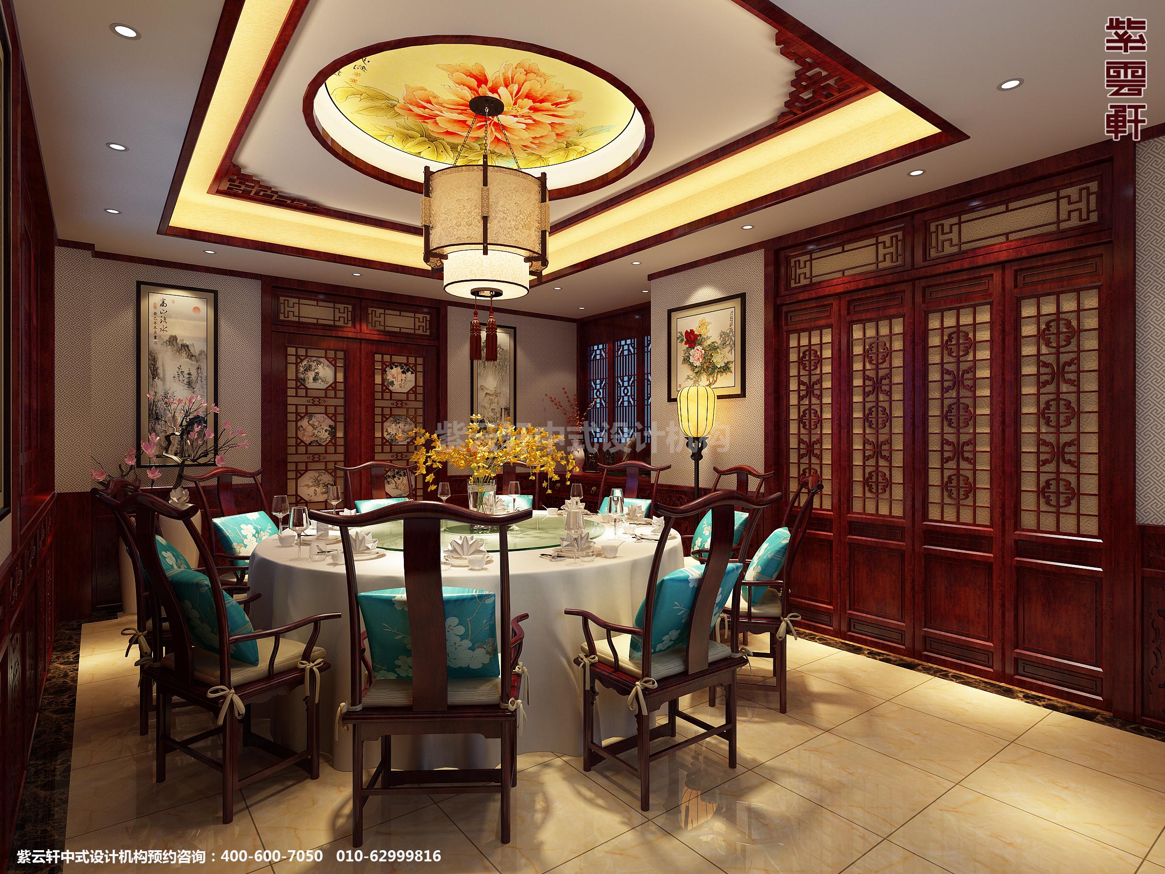 青岛即墨豪宅古典中式装修设计 悠然凌空,随风还真