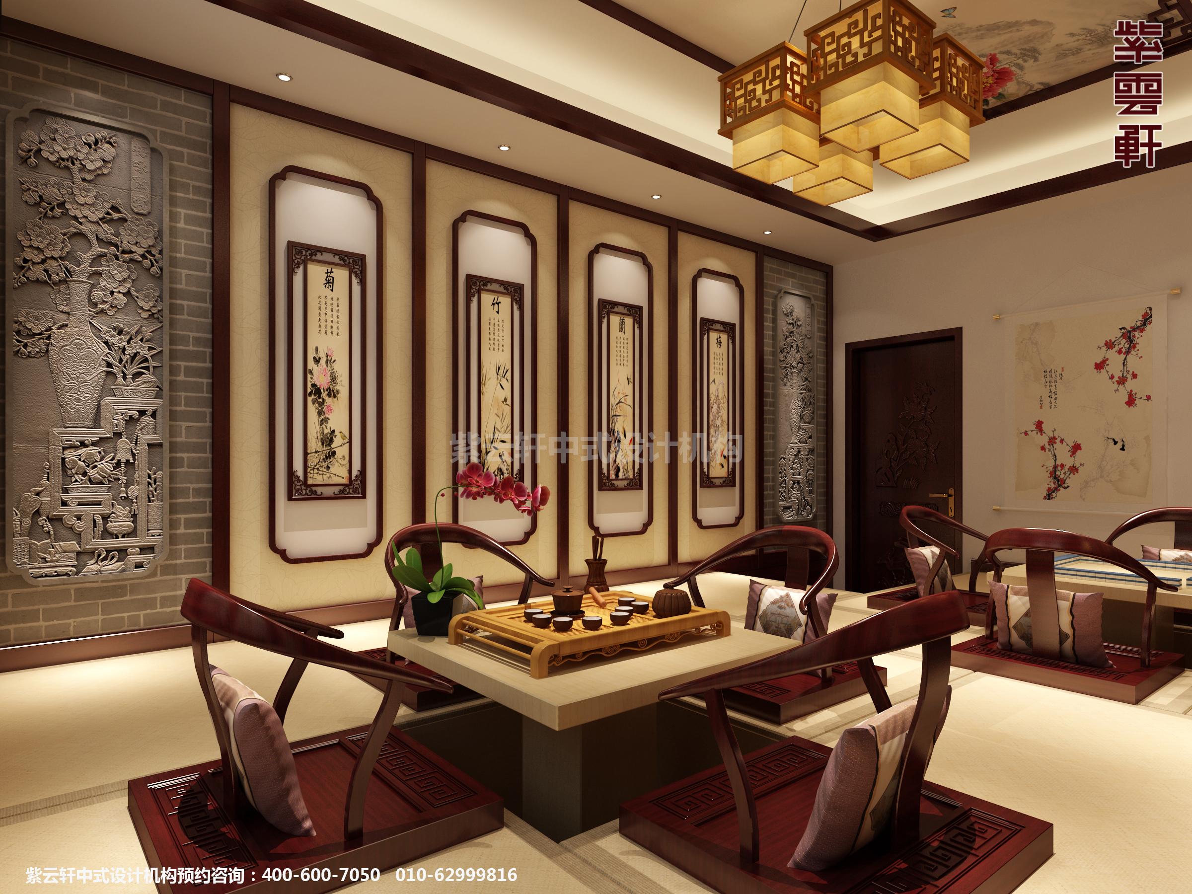 邢台古典中式设计别墅,风姿绰绰古韵悠悠。走进这套别墅,古典桌椅,书画墨香,文竹轻风,花几玲珑,丝绸帷帐,茶香浮动,仿若走进历史,走进真正的归属。设计师采用简约设计理念,来陈设古典元素,打造了这套极富历史文化和极高的审美价值的中式别墅。