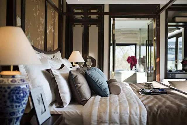 10款新中式设计卧室 淡雅宁静呢喃温情