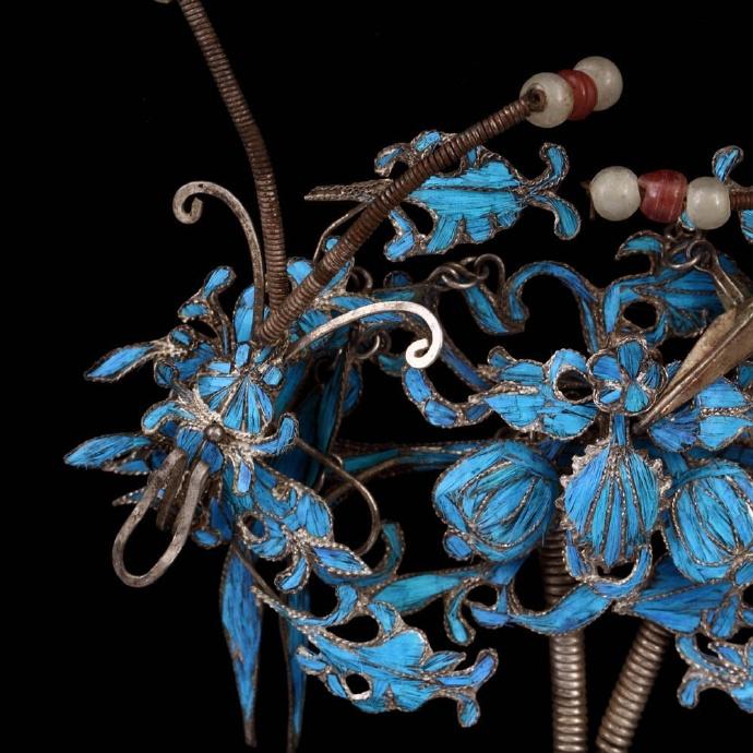 传统工艺点翠:艳丽拙朴身影的没落
