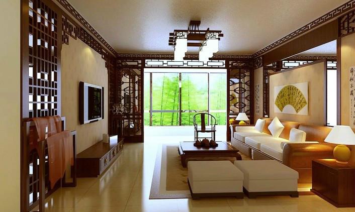 中式装修家居选择沙发和挂画应该谨记的事项