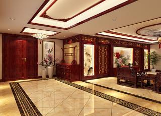 天津书画家古典中式装修设计精品住宅 知性的语言,柔情的空间