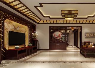 日照复式楼新中式设计案例 悠悠诗意漾满情怀