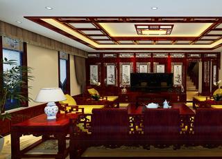现代中式风格蓟县恒大别墅楼王设计 丰神端然澈净心灵