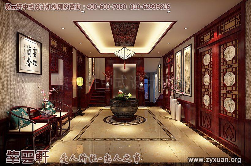 古典过厅设计图片
