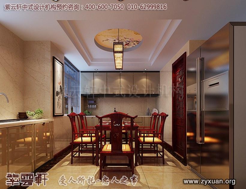 古典中式装修餐厅