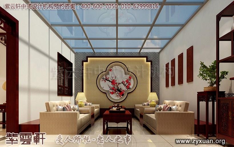 中式阳台装修
