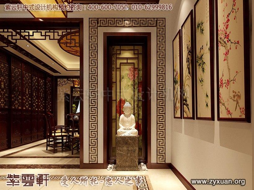 中式玄关设计图