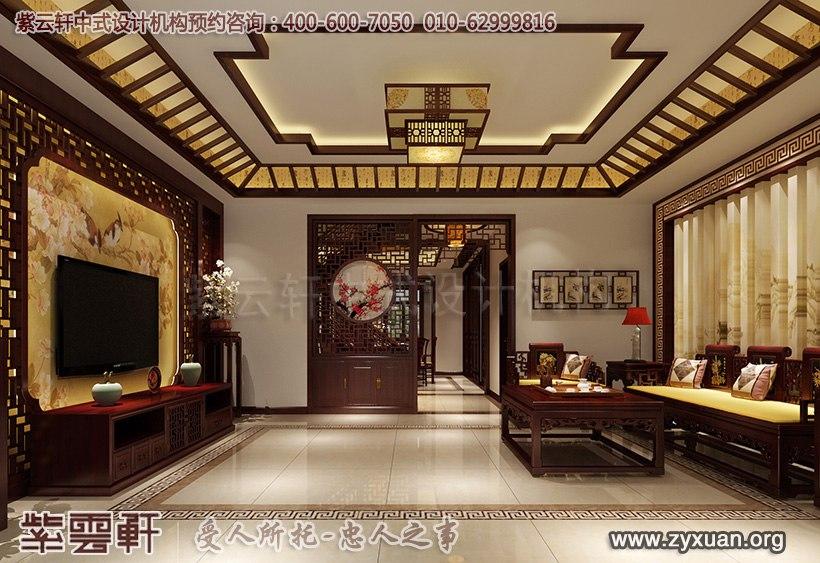 新中式客厅设计效果图