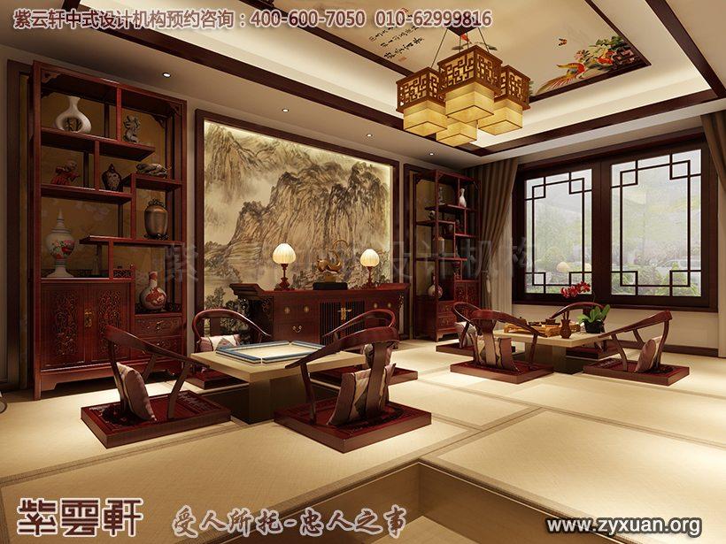 别墅茶室设计图