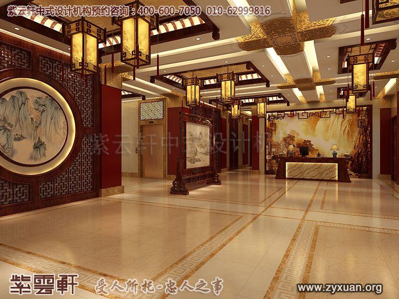 大厅中式装修