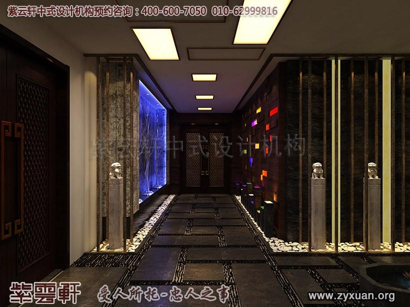 走廊中式设计