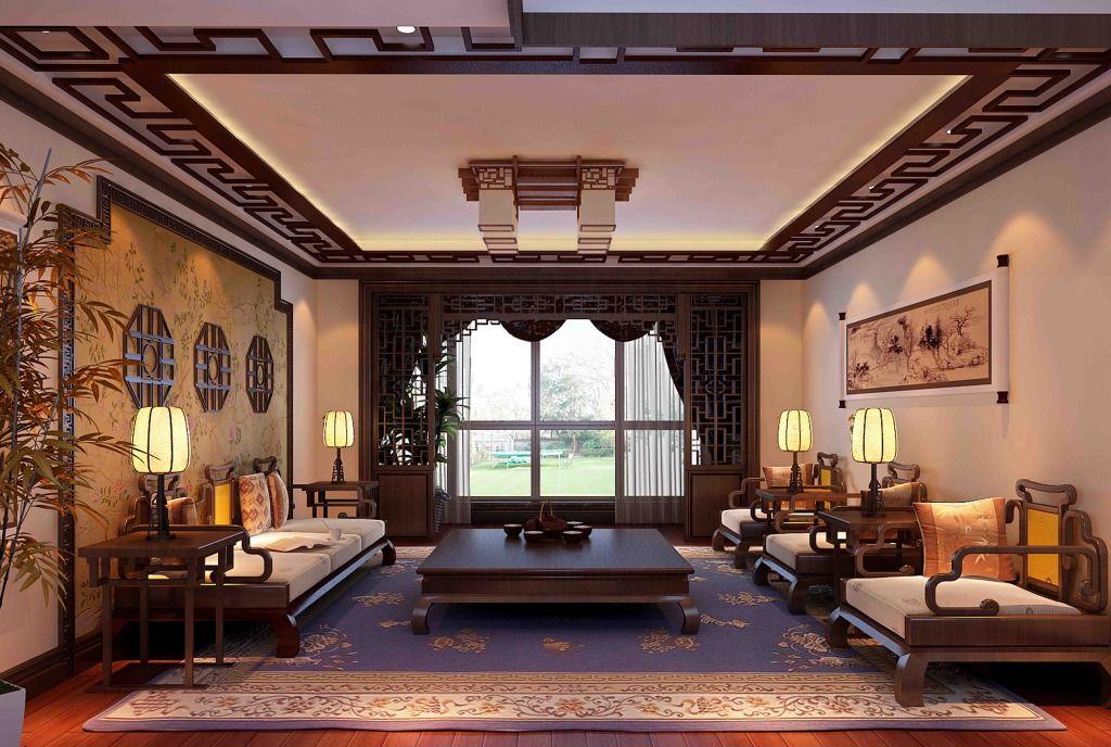 现代中式装修家居挂什么画风水时运最好