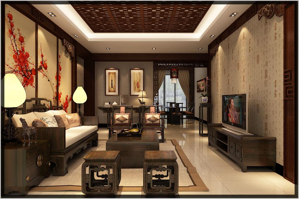 中式装修客厅红木家具摆放风水需要考虑到的六个方面