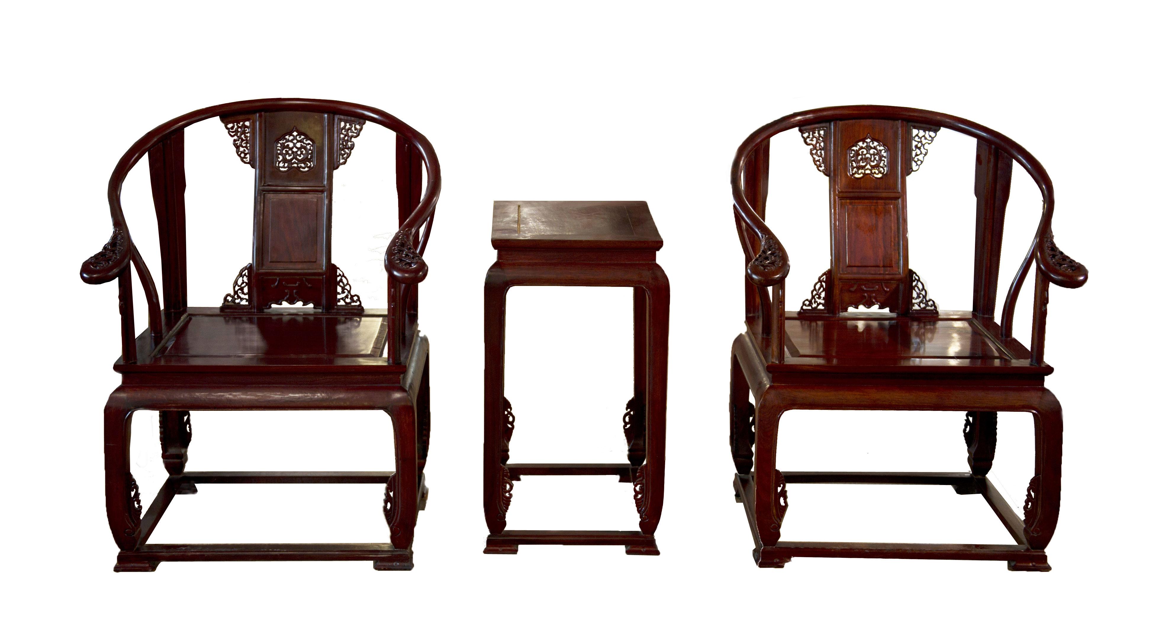 中式设计空间选用圈椅所蕴含的千古智慧