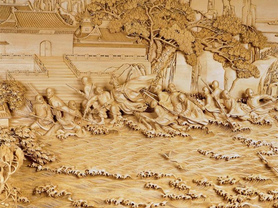 详解四大木雕:东阳木雕、黄杨木雕、潮州木雕、龙眼木雕