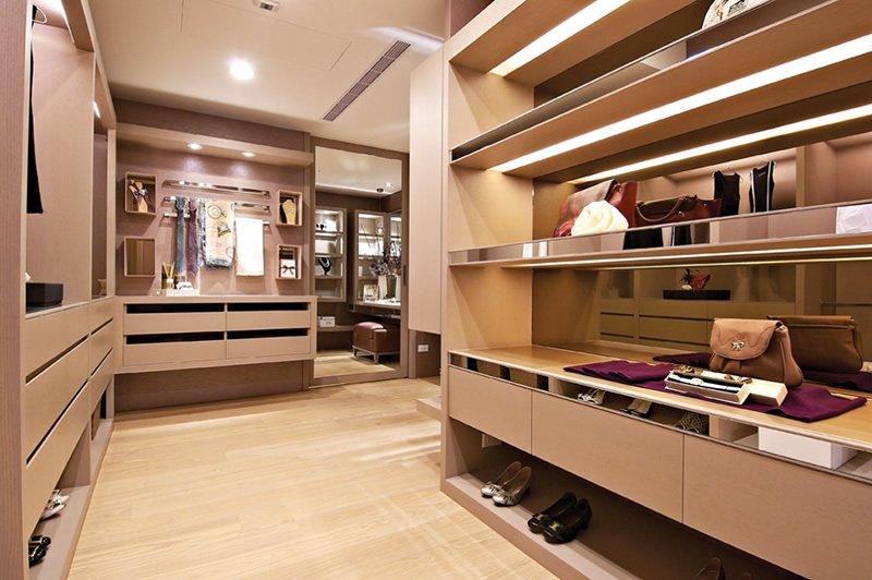 中式风格独立衣帽间装修设计原则有哪些