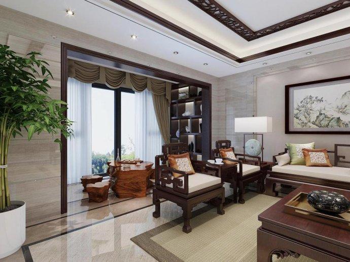 中式装修住宅选用抛光砖的优缺点以及如何选择优质抛光砖