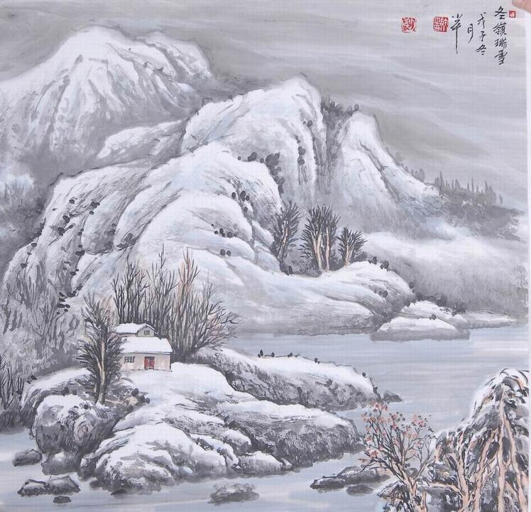 中式设计徽派建筑与山水画的意境