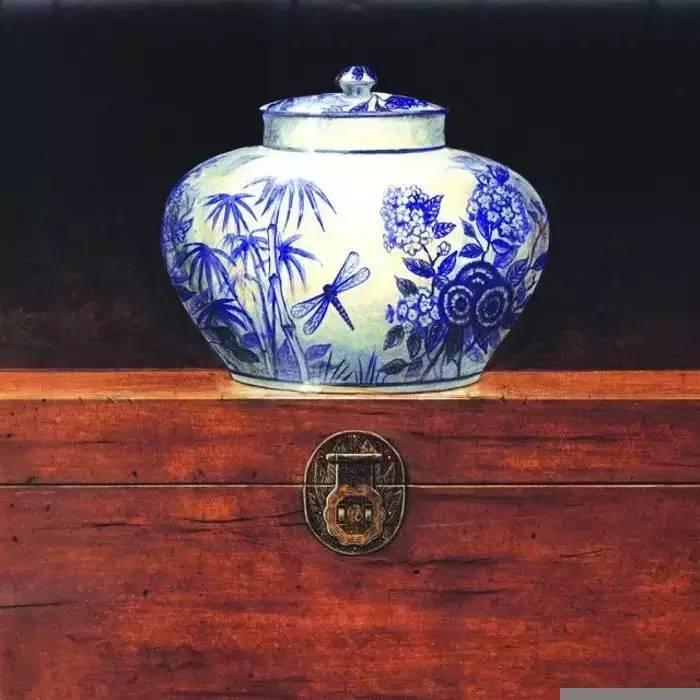 传统工艺中式配饰一缕青花瓷,几多中华韵