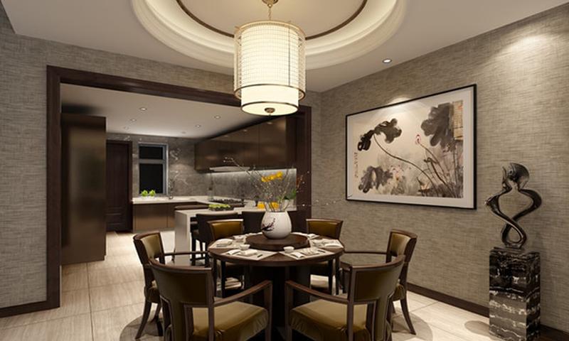 中式餐厅装修时一定要根据这3条风水知识选择餐桌